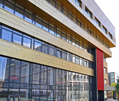 Stenhouse Building, Strathclyde University, Glasgow: Hypostyle