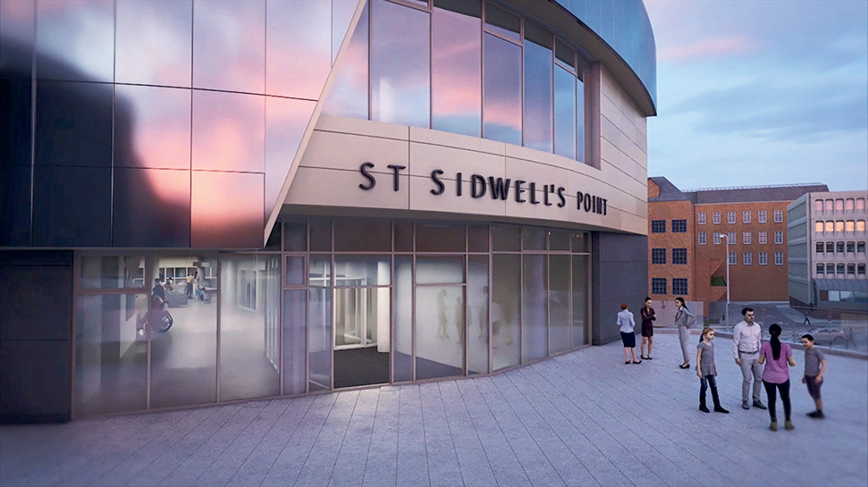 St. Sidwell's Point Leisure Centre, Exeter