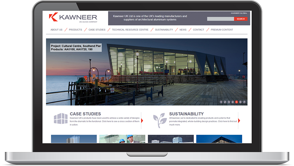 Kawneer launches new website