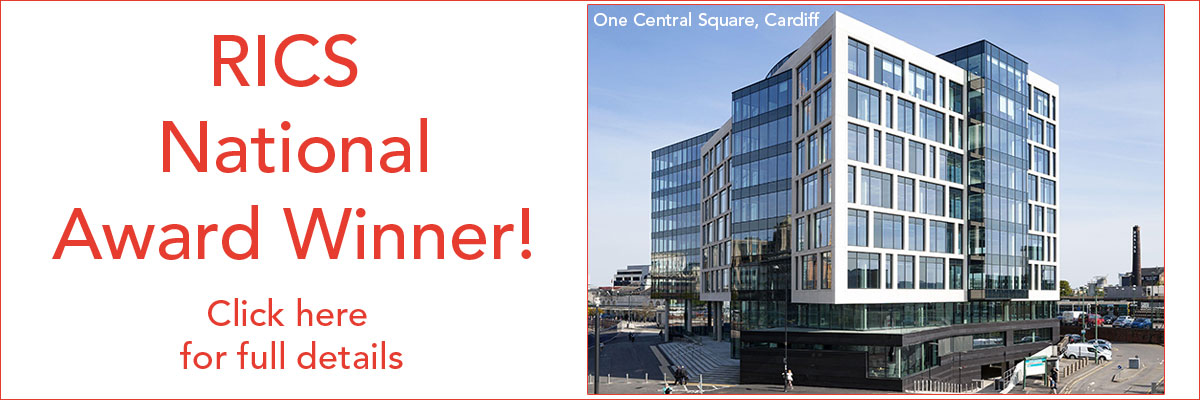 RICS National Award Winner - One Central Square, Cardiff