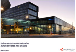 Kawneer Aluminium Curtain Wall Systems - EPD