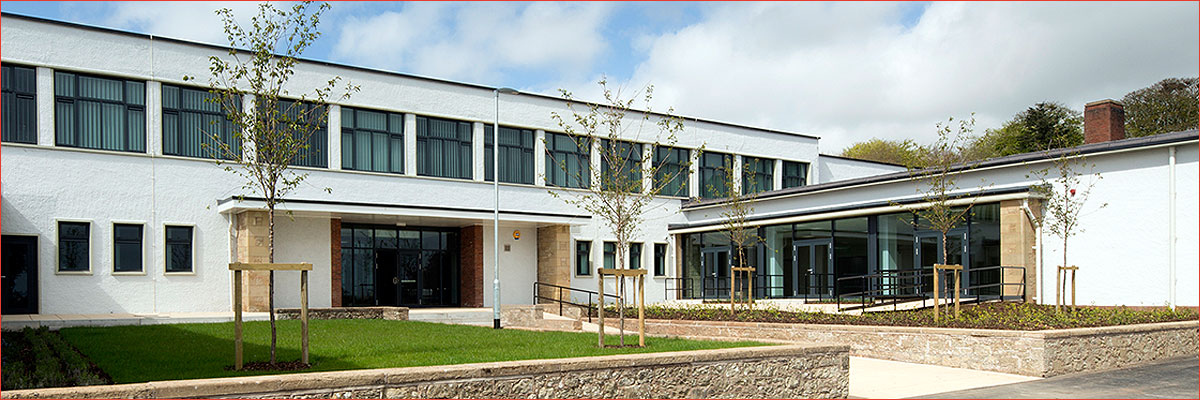 Project: Duns Primary School, Berwickshire<br/>Products: GT70, AA®100, AA®720, AA®3572