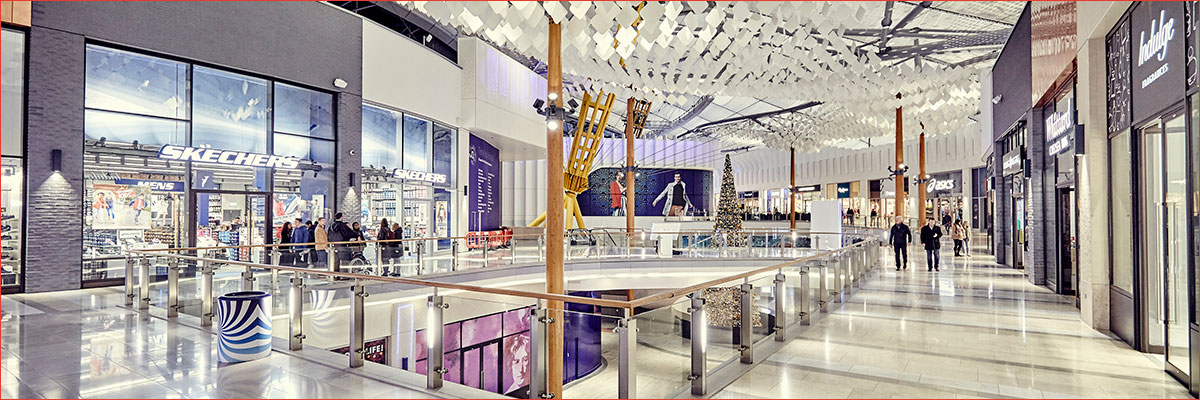 Project: ICON Outlet, The O2, London<br/>Products: AA®100, 190