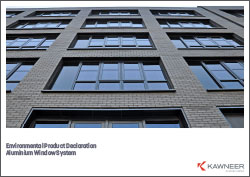 Kawneer Aluminium Window Systems - EPD
