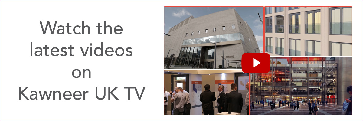 Watch the latest videos on Kawneer UK TV